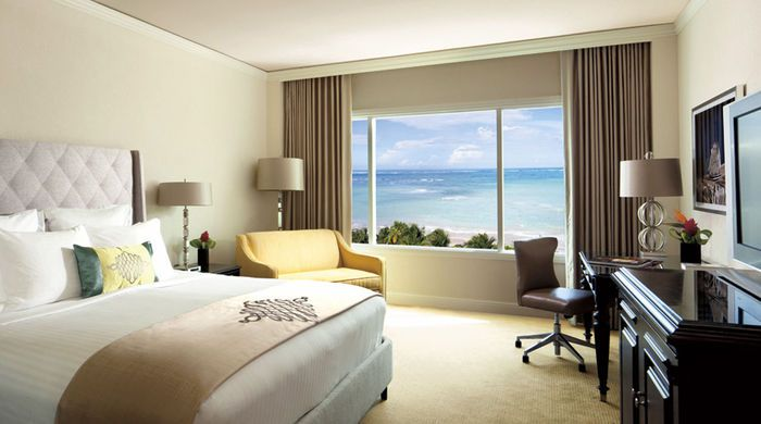 Ocean View Room, The Ritz-Carlton