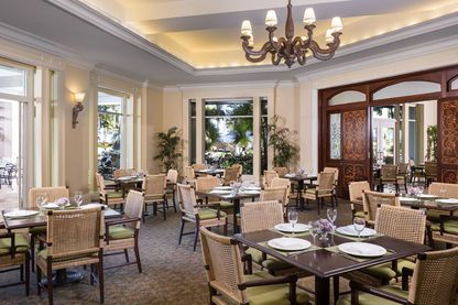 Restaurant, The Ritz-Carlton