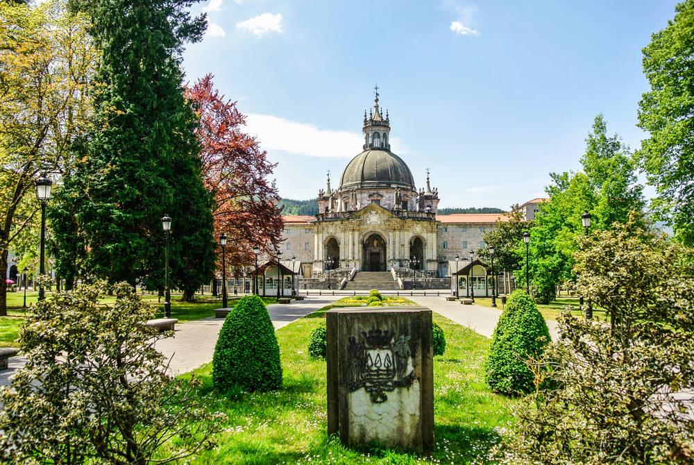 The Sanctuary of Loyola, near Bilbao