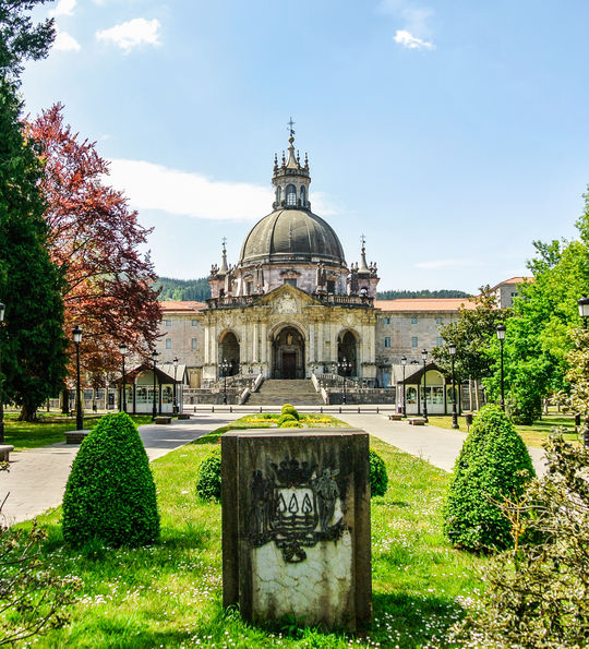 The Sanctuary of Loyola, near Bilbao