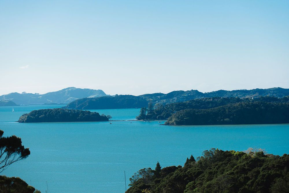 The Sanctuary view of the Bay of Islands, New Zealand