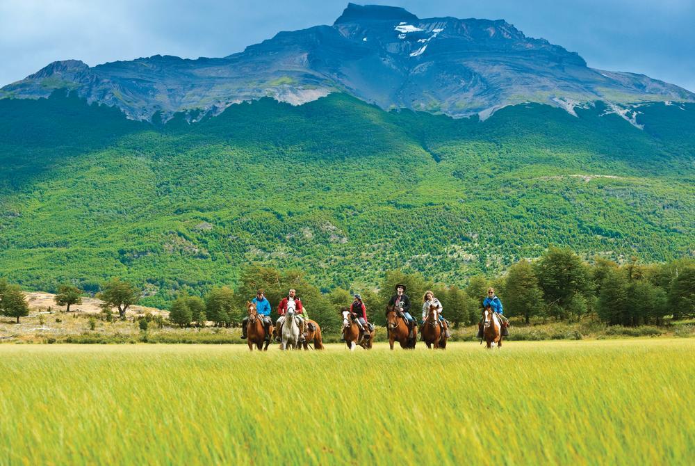 horse riding at The Singular Patagonia