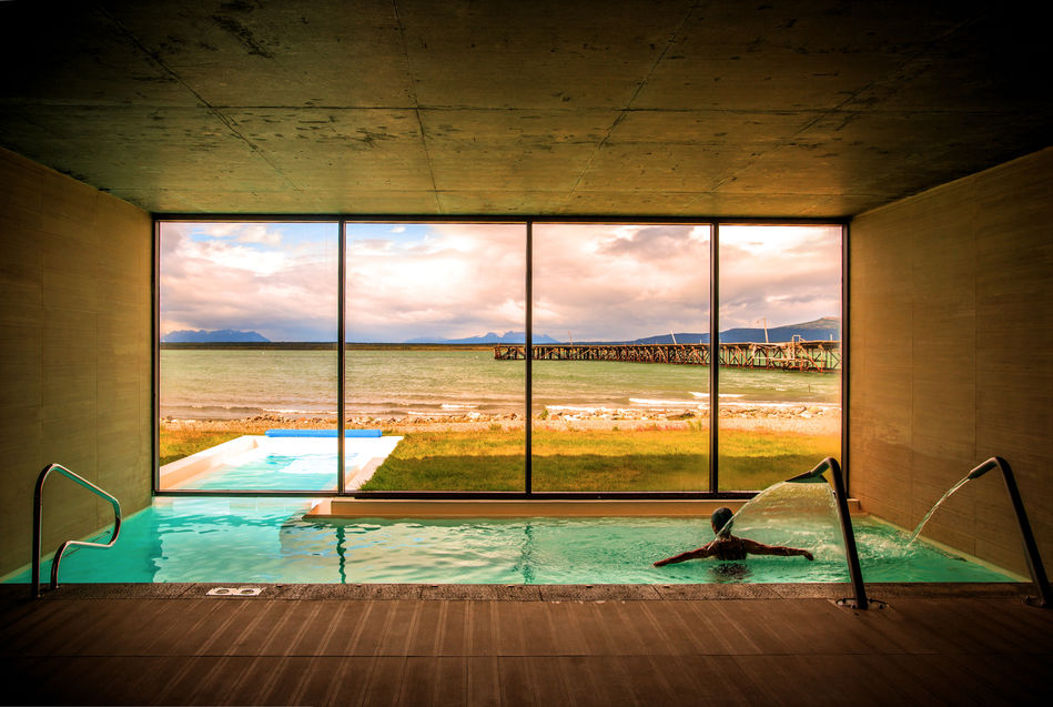 Swimming pool in The Singular Patagonia