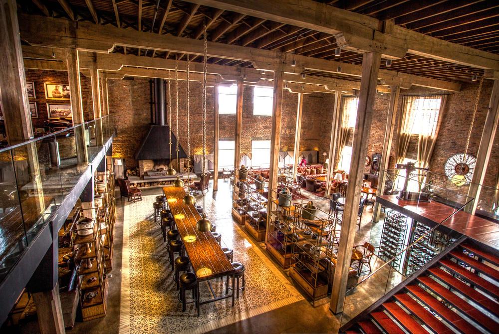 The Singular Patagonia's restaurant