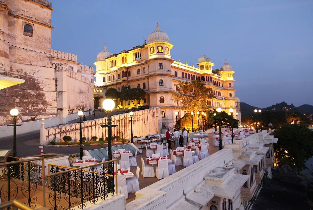 The Sunset Terrace, Fateh Prakash Palace