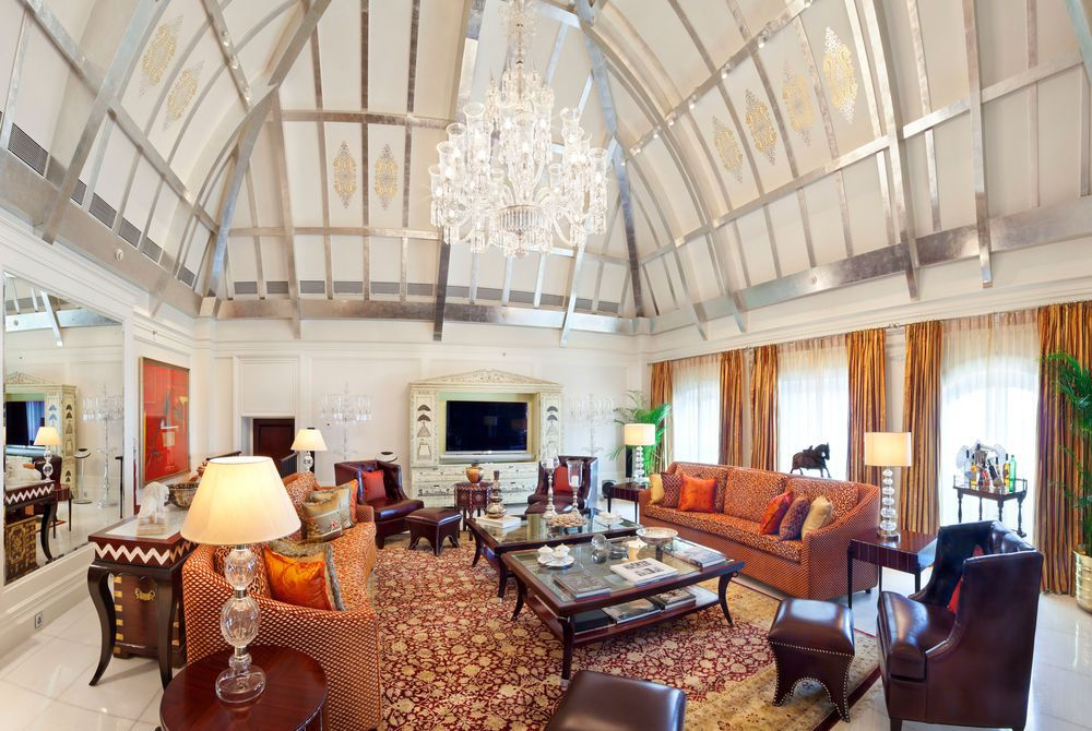 Tata Suite Living Area, The Taj Mahal Palace Mumbai