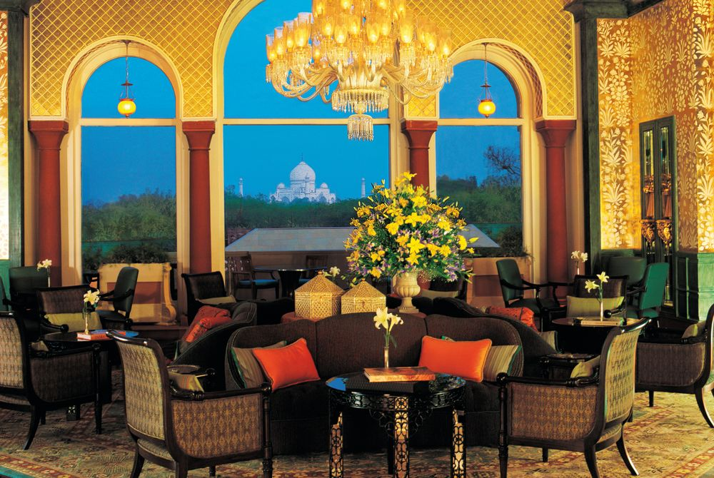 The Tea Lounge, The Oberoi Amarvilas, Agra
