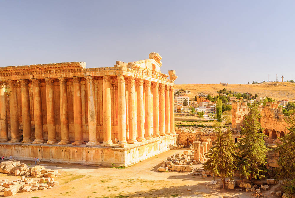 The Temple of Bacchus, Baalbeck