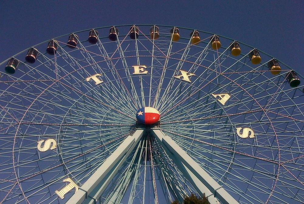 Ferris wheel at the Texas State Fair