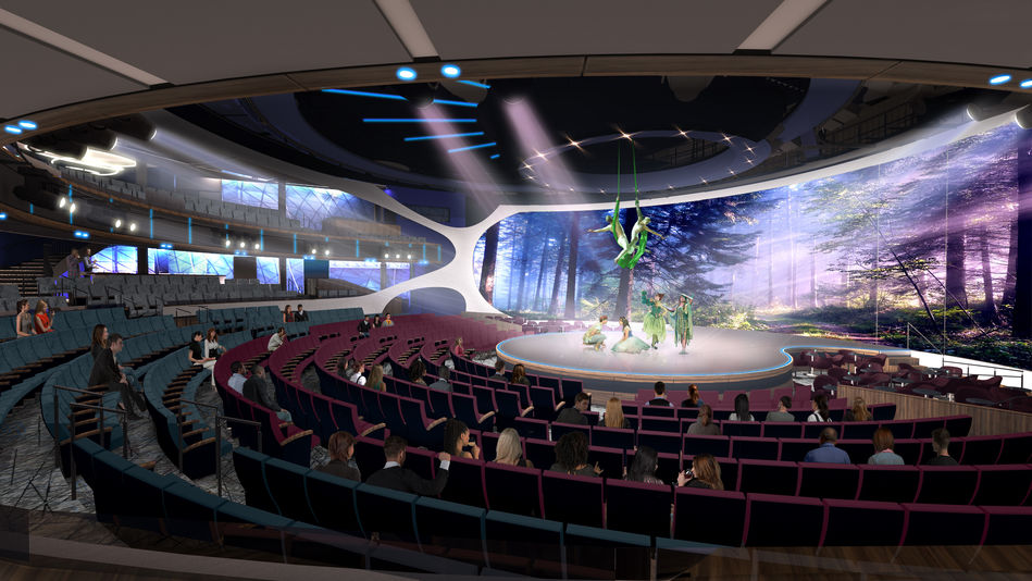 The innovative Theatre on Celebrity Edge