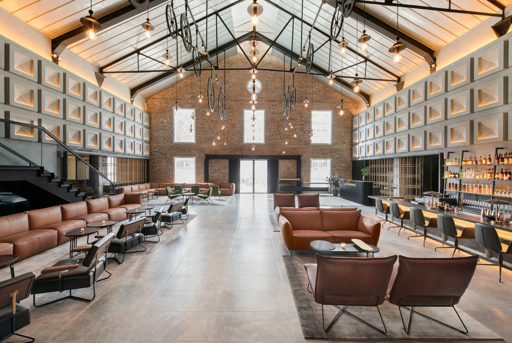 Lobby, The Warehouse Hotel