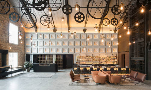 Lobby and Bar, The Warehouse Hotel