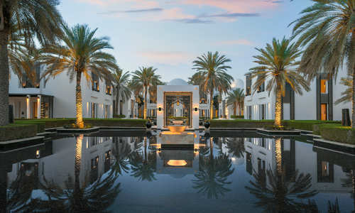 The Watergardens, The Chedi Muscat, Oman