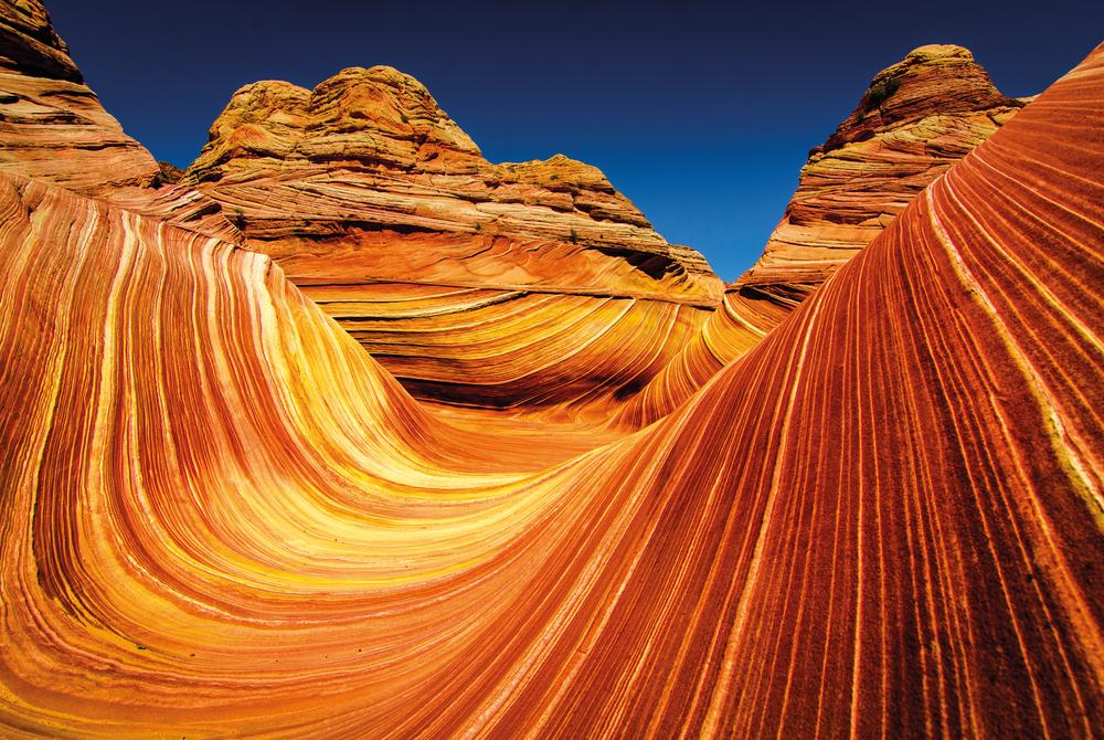 The Wave, Coyote Buttes, Arizona desert