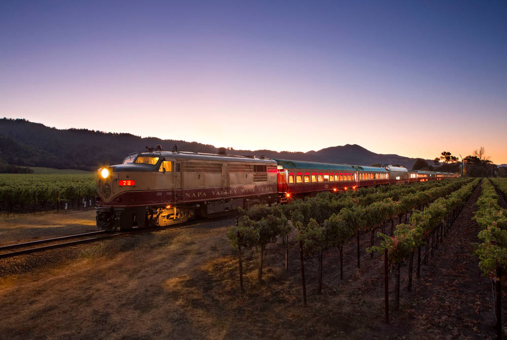 Exterior, Napa Valley Wine Train