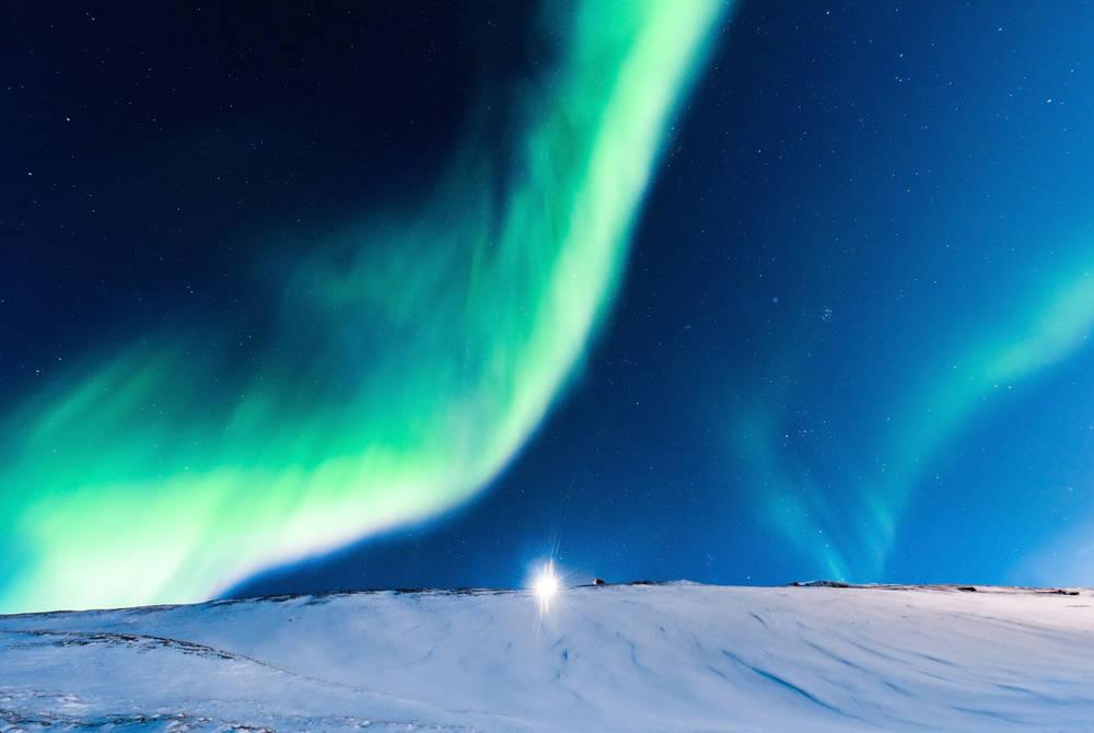 Polar Night: Northern Lights in Svalbard