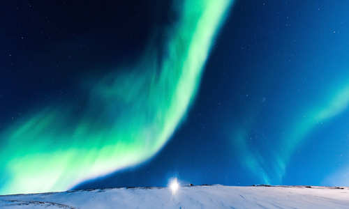 Polar Night: Northern Lights in Svalbard