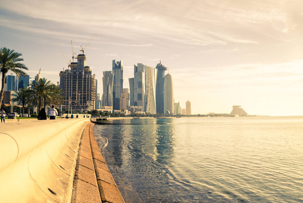 Doha in Qatar, Middle East