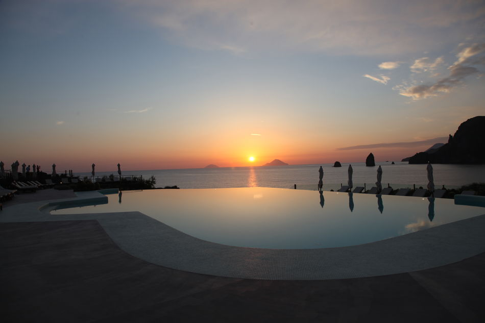 Sunset at Therasia Resort and Spa
