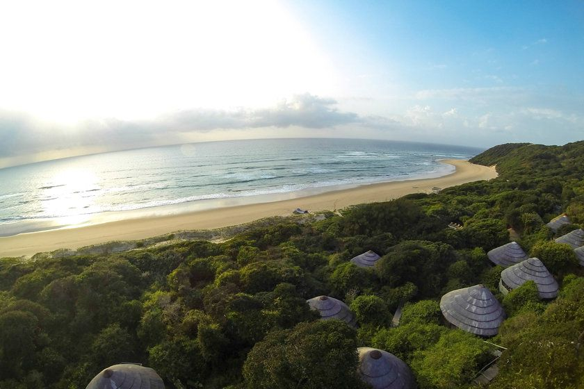 Aerial View, Thonga Beach Lodge, South Africa
