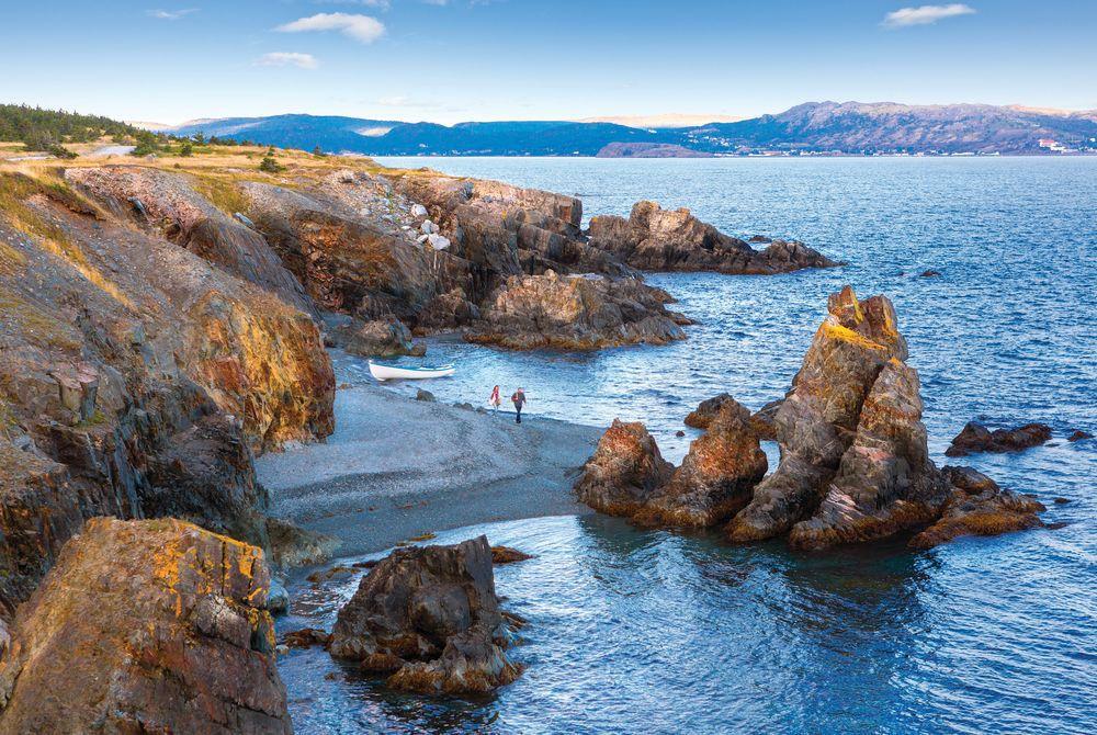 Three Sisters Beach, Newfoundland