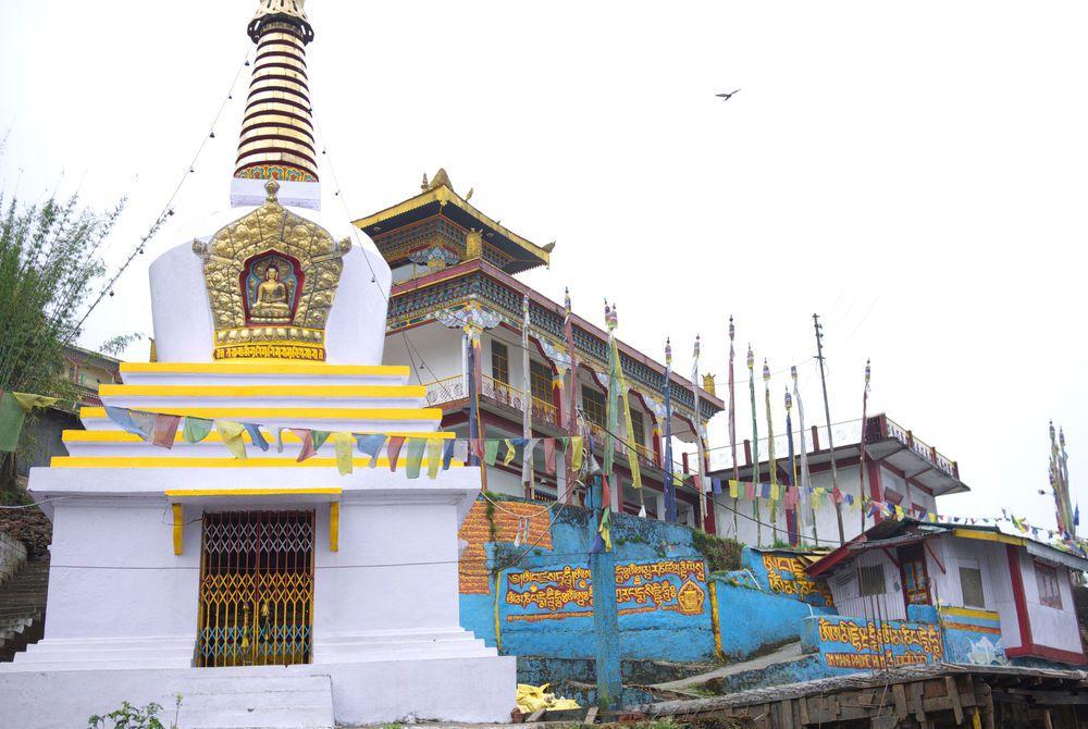 Tibetan Monastery, Kalimpong, East Bengal