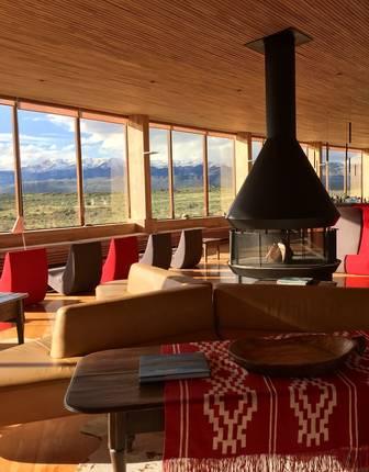 Tierra Patagonia lounge