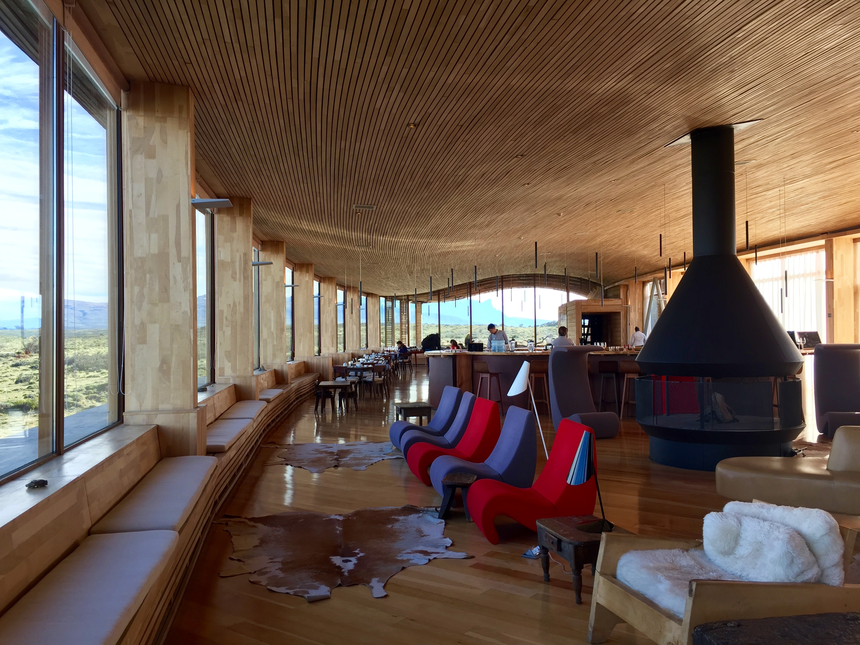 The Lounge of Tierra Patagonia