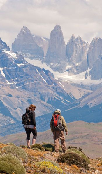 Hiking near Tierra Patagonia Hotel & Spa in Torres del Paine National Park
