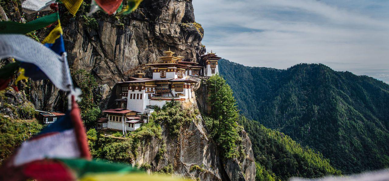 Tiger's Nest Monastery in Taktsang, Paro, Bhutan