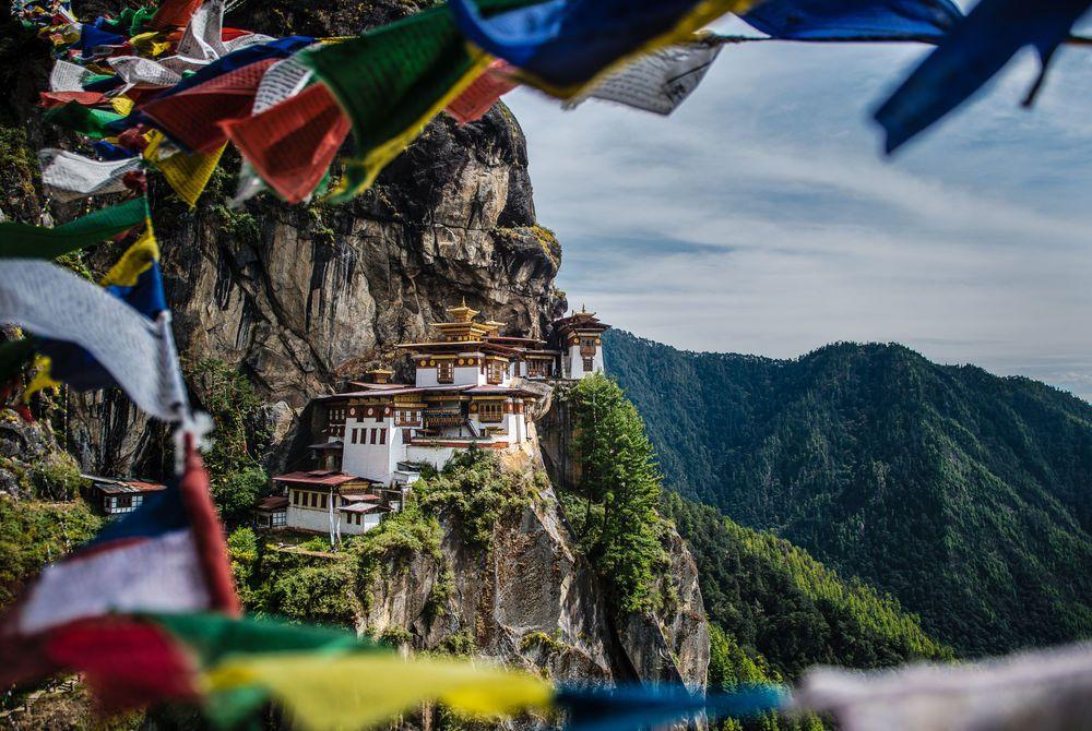 Tiger's Nest Monastery, (Taktsang) Paro