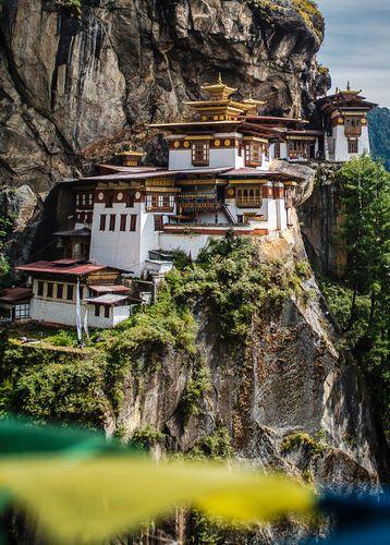 Tiger's Nest Monastery, (Taktsang) Paro, Bhutan
