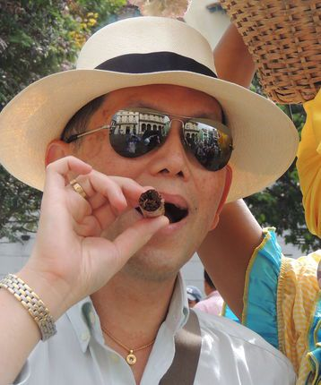 Tim Tan in Havana, Cuba with The Luxury Holiday Company
