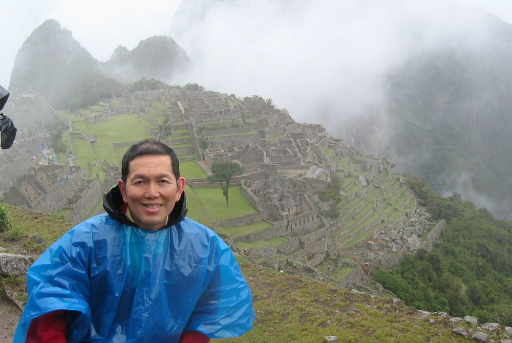 Tim at Machu Picchu