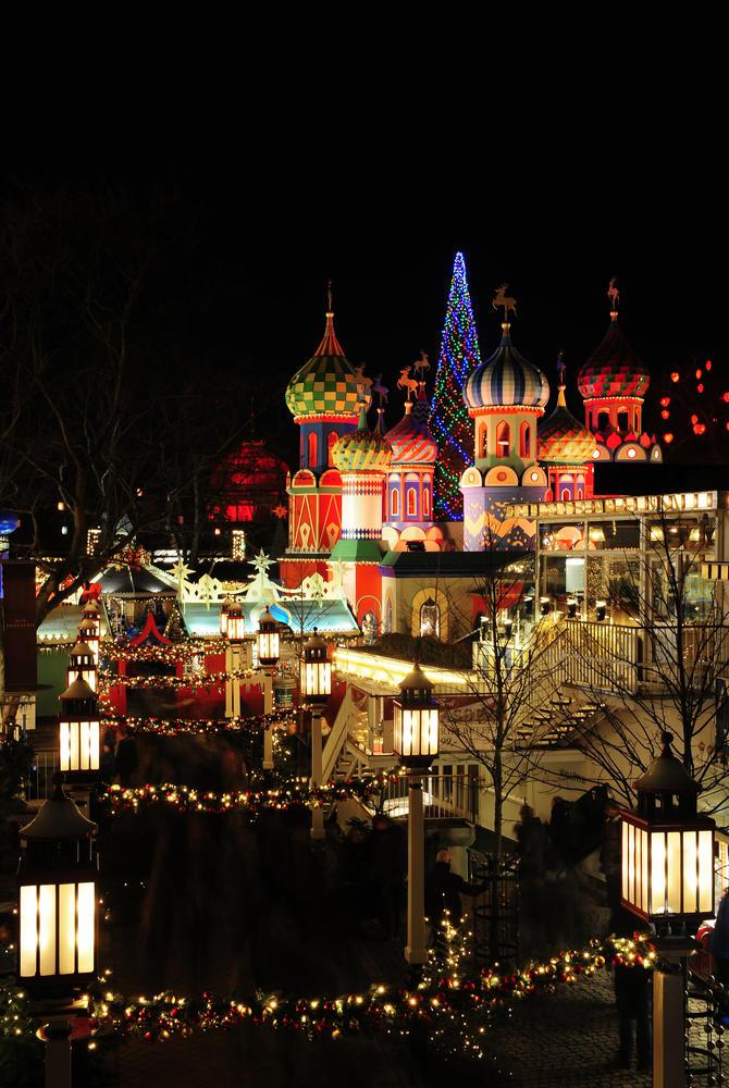 Tivoli Gardens Amusement Park & Christmas Market, Copenhagen