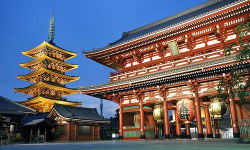 Sensoji, Tokyo, Japan