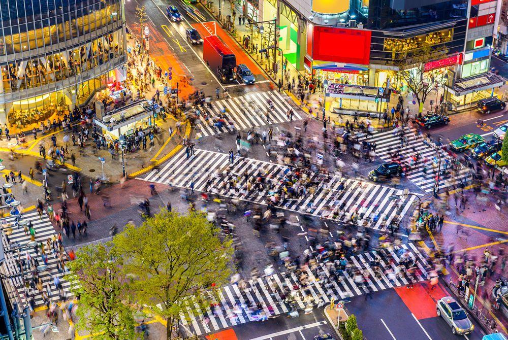 Tokyo crossing, Japan
