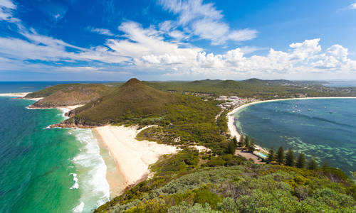 Tomaree Head Lookout, Port Stephens, New South Wales