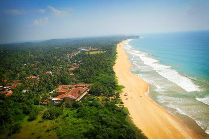 Top View, Aditya Resort, Galle