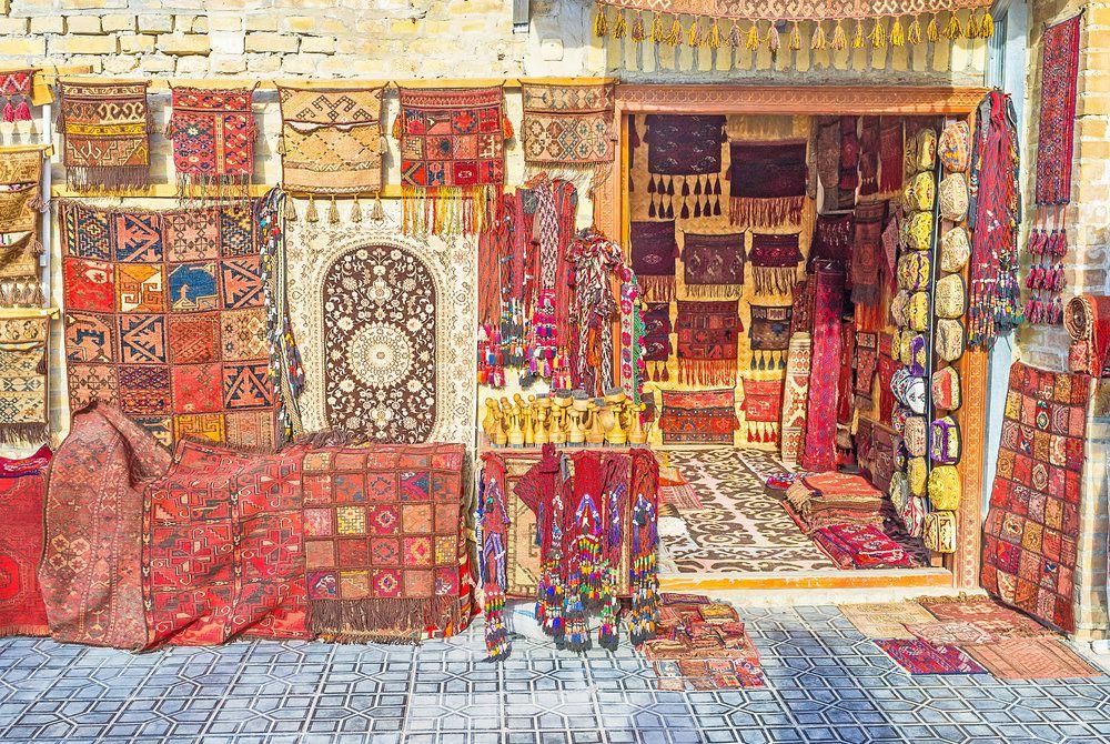 Toqi Sarrafon Bazaar, Bukhara, Uzbekistan