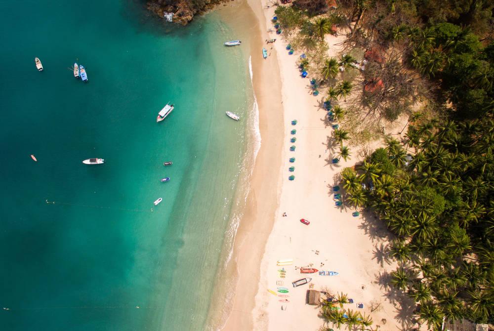 Tortuga islands, Nicoya Peninsula