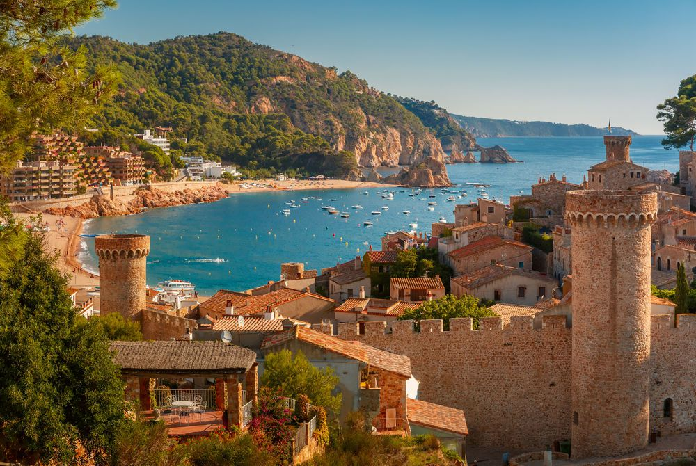 Tossa de Mar on Costa Brava