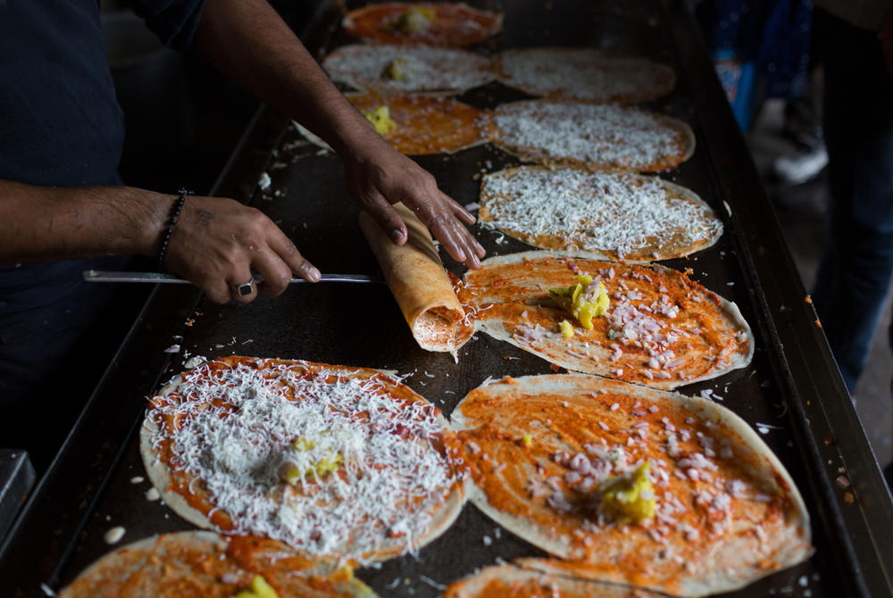 traditional Indian dosa