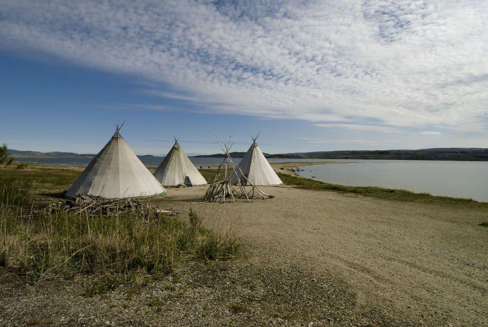 Traditional Sami Huts