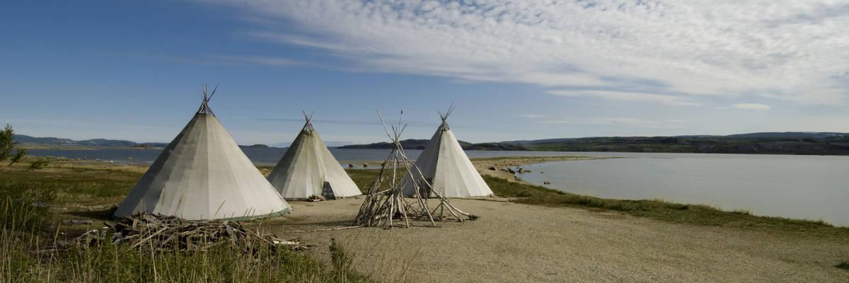 Traditional Sami Huts, Kirkenes, Northern Norway
