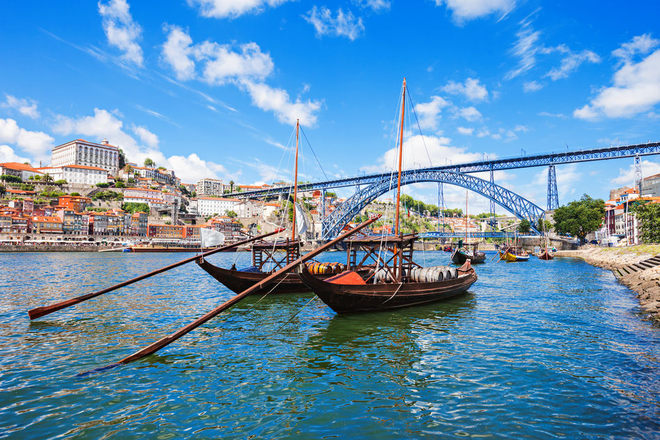 Oporto on the Douro River