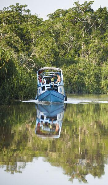 Klotok houseboat