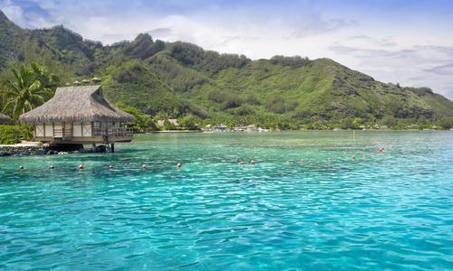 Traditional style hut, Viti Levu, Fiji