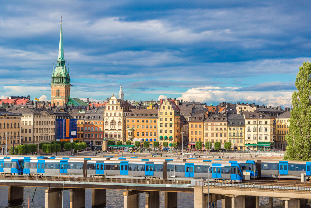 Scandinavian city odyssey by rail & sea