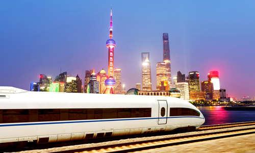 Train, Shanghai